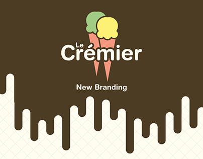Le Crémier - ReBranding
