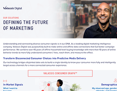 Valassis Digital Product Marketing
