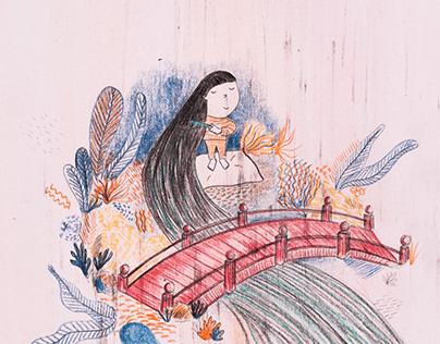 Children's book illustration // Décimas para soñar