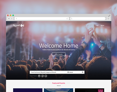 Sponsifyme Website Design