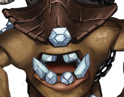 Diamond Eater, Creature Concept