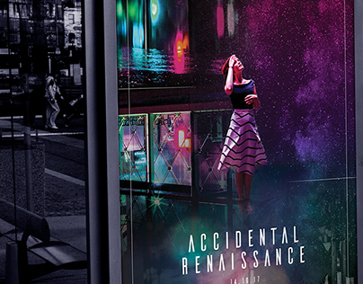 Accidental Renaissance | Cyberpunk Film Artwork Concept