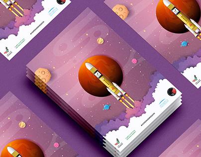 Poster Design | UAE | HOPE MARS MISSION