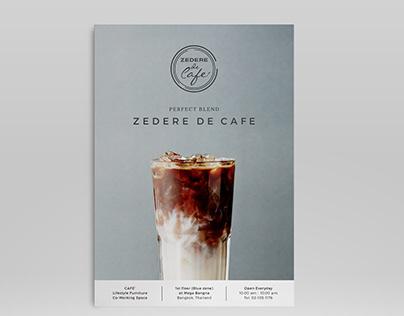 Zedere de cafe menu