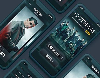 Gotham Mobile App Concept