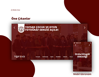 Tofsad Web Site