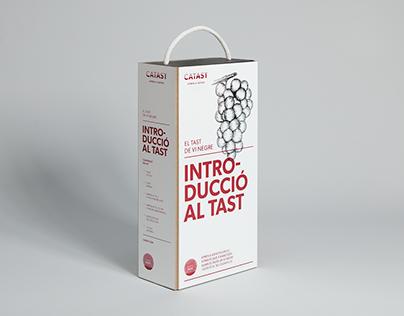 CATAST. Aprèn a tastar. Identity and Packaging