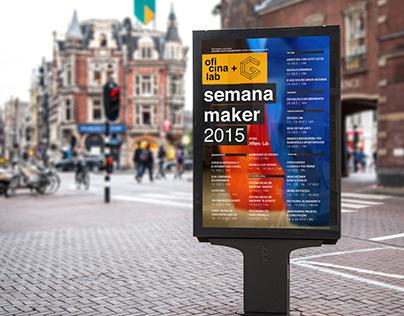 Cartaz Semana Maker 2015