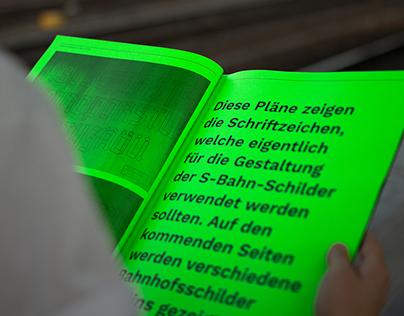 Gebrochene Schrift im öffentlichen Raum