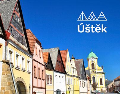 Visual identity of city Úštěk