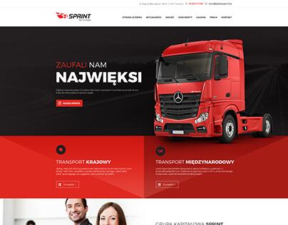 Logistic Company website