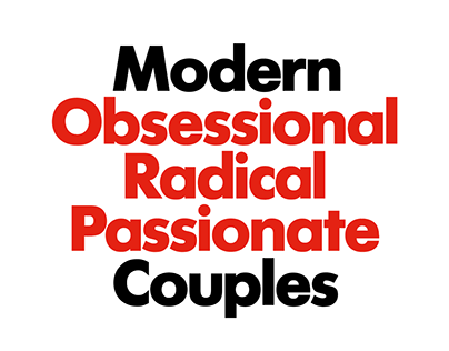 Barbican's Modern Couples campaign