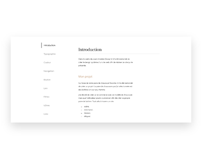 Design Système – Modular Design