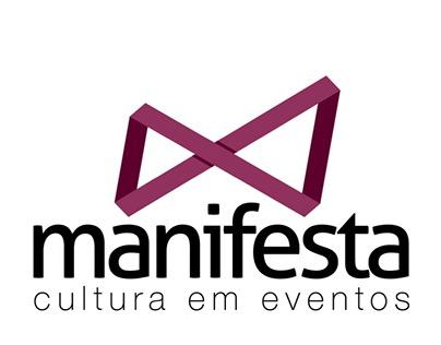 MANIFESTA | cultura em eventos - Redesign de Marca.