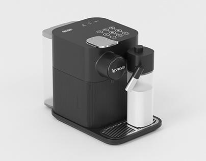 Nespresso Gran Lattissima Espresso Machine 3D Model