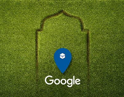 Google Qibla Finder web app