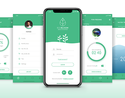 EcoGarden App for a Smart Interactive Ecosystem