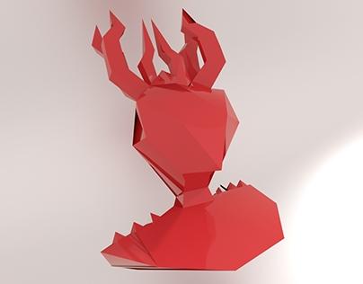Raxsa - traditional demon