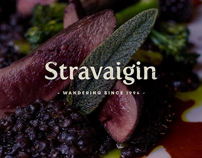 Stravaigin Branding