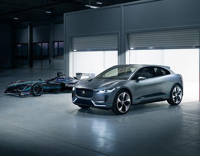 Jaguar I-Pace Retouching