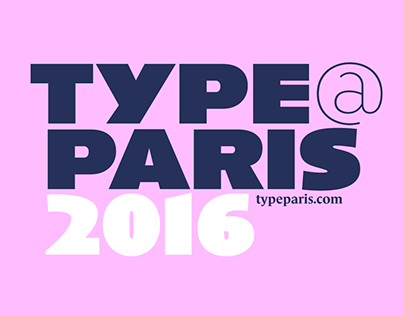 TypeParis Summer 2016