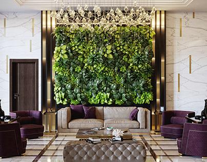 Hotel Reception. Baku,Azerbaijan
