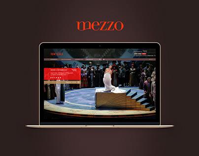 Mezzo.tv - Refonte web