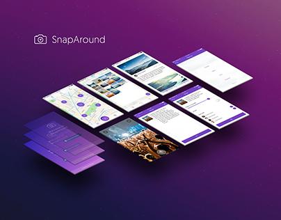 SnapAround IOS app