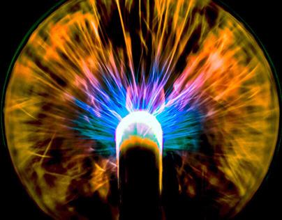 Plasma Ball…… In Motion…….