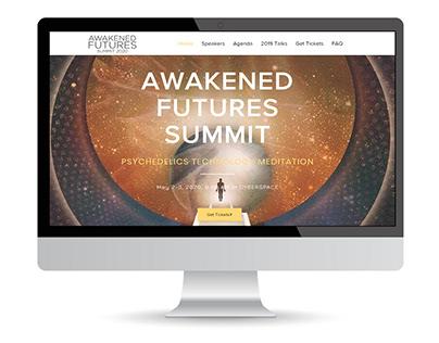 Awakened Futures Summit - Ui Design