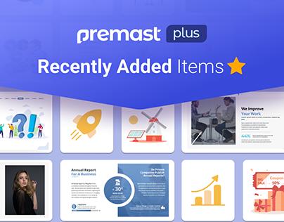 Premast Plus Recently Added Items 🌟