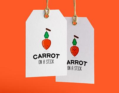 Carrot on a Stick - Logo Design