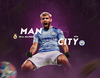 CARD MATCH MAN CITY REAL MADRID
