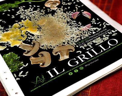 Publicidad Restaurant Il Grillo