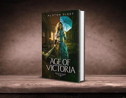 Age of Victoria book cover design