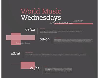World Music Wednesday