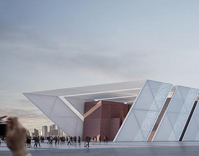 The Egyptian Pavilion : World Expo design contest 2018