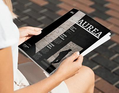 Revista Aurea. Trabajo editorial.