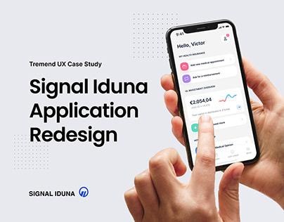 Signal Iduna Application Redesign