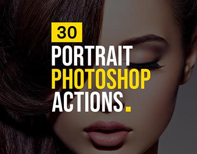 30+ Photoshop Actions to Enhance Portrait Photos