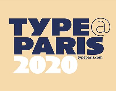 TypeParis Summer 2020