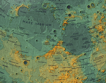 Topographic maps of space