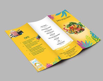 Summer Camp Tri-Fold Brochure Design