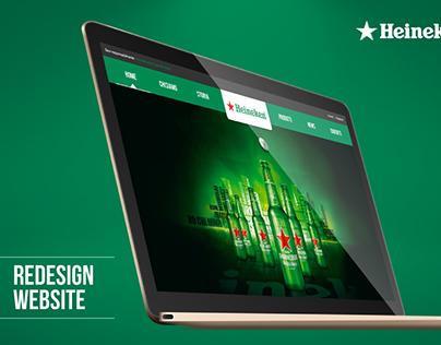 Heineken WebSite Proposal