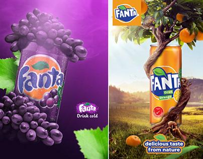Fanta | outdoor advertisement concept design