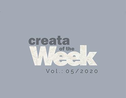 Creata Of The Week - CMC Catalog Design