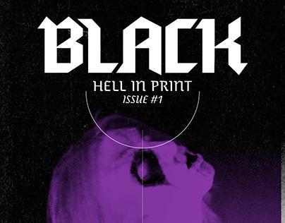 BLACK - Norwegian Black Metal Magazine