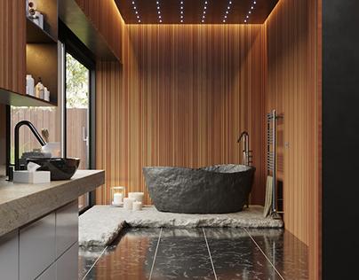 Bathroom Design Idea by Alamoot Studio / Hadi Mahdian