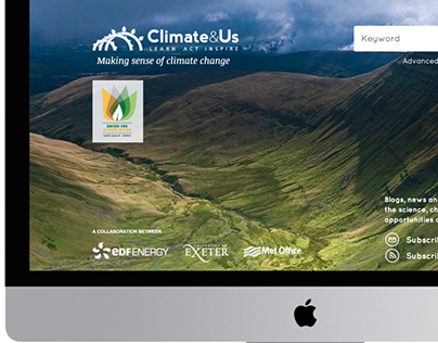 EDF-Climate&Us website