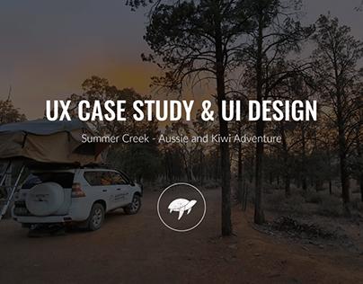 Summer Creek | UX case study and UI design